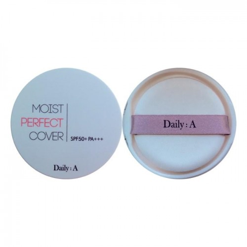"Кушон крем-пудра ""Deoproce Daily A Moist Perfect Cover Cushion SPF50+/PA+++"""