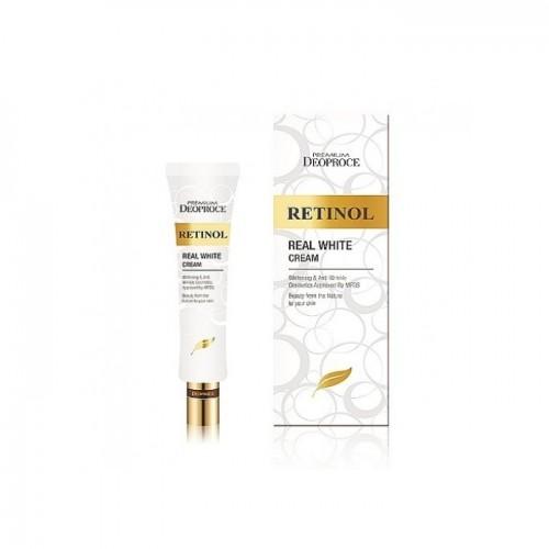 "Крем для области вокруг глаз и носогубных складок ""Deoproce Premium Retinol Real White Cream"""