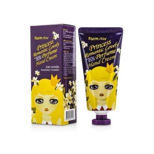 "Парфюмированный крем для рук против морщин ""FARMSTAY Princess Romantic Lovely Perfume Hand Cream"""