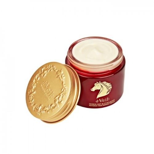 "Восстанавливающий крем на основе конского жира ""LADYKIN d'Veil Reverse Time Repair Cream (Horse Fat & Collagen)"""