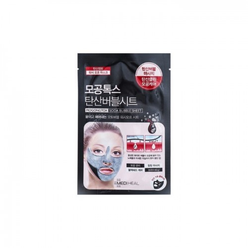 "Пузырьковая маска для лица ""Mediheal Mogongtox Soda Bubble Sheet"""