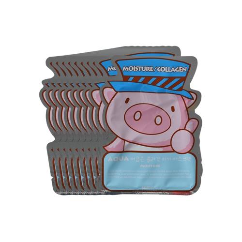 "Тканевая маска с коллагеном ""NEXTBEAU Collagen Piggy Mask Pack"""