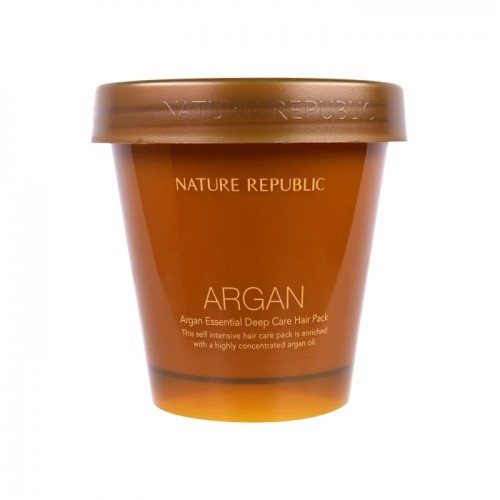 "Восстанавливающая маска для волос с маслом арганы ""NATURE REPUBLIC Argan Essential Deep Care Hair Pack"""