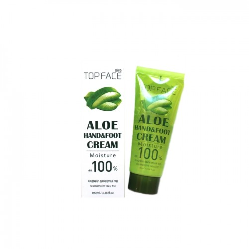 "Увлажняющий крем для рук и ног ""TOP FACE Aloe Hand & Foot Cream"""