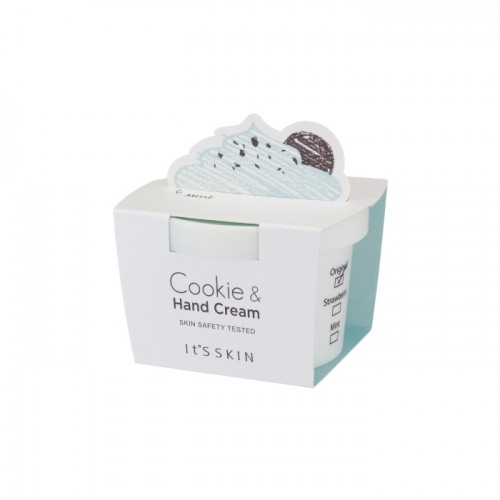 "Крем для рук ""It's Skin Cookie & Handcream""Mint""(Мята)"