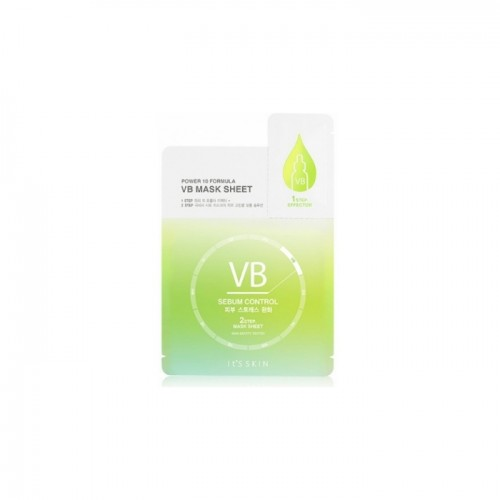 "Маска по контролю себума с витамином В6 ""It's Skin Power 10 Formula VB  Mask Sheet"""