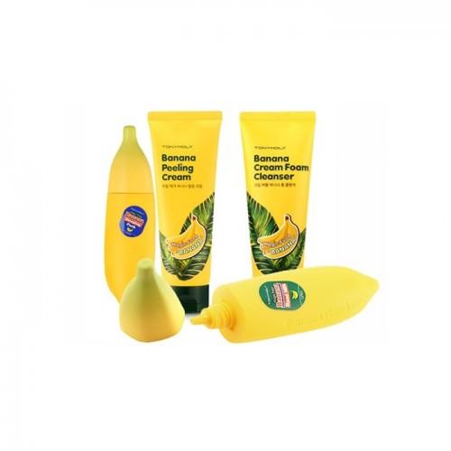 "Крем-пенка для умывания с экстрактом банана ""TONY MOLY Magic Food Banana Cream Foam Cleanser"""